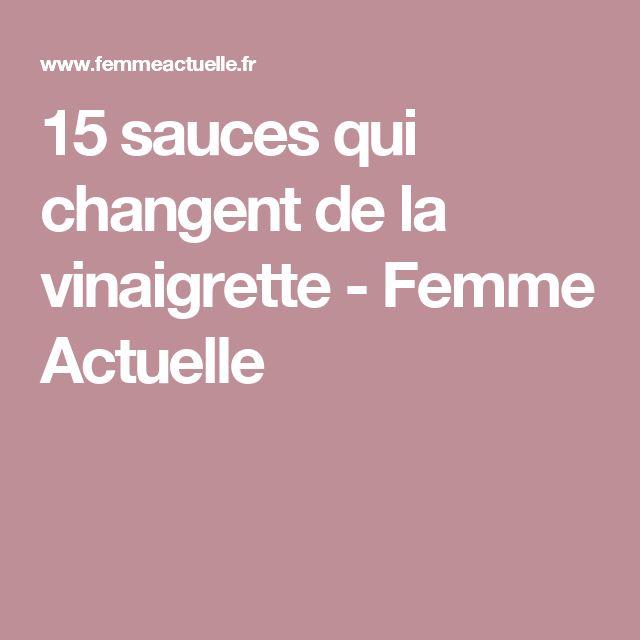 15 sauces qui changent de la vinaigrette - Femme Actuelle