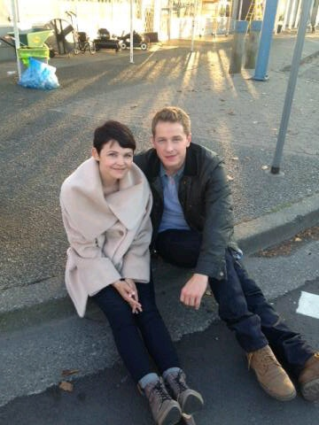Snow and charming. Gah! They're perf!