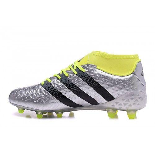 Adidas ACE - Nejnovější Adidas ACE 16.1 Primeknit FG AG Stříbrný Fotbalové Kopačky