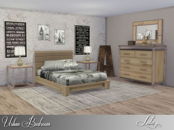 TSR : Lulu265u0027s Urban Bedroom.