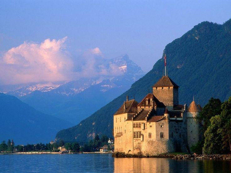 montreux switzerland | Montreux, Switzerland | Places I'd Like to Go