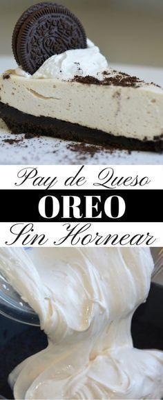 Pay de queso de OREO