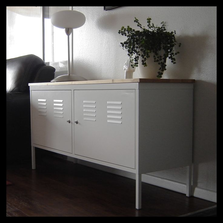 Ikea PS Cabinet hack.