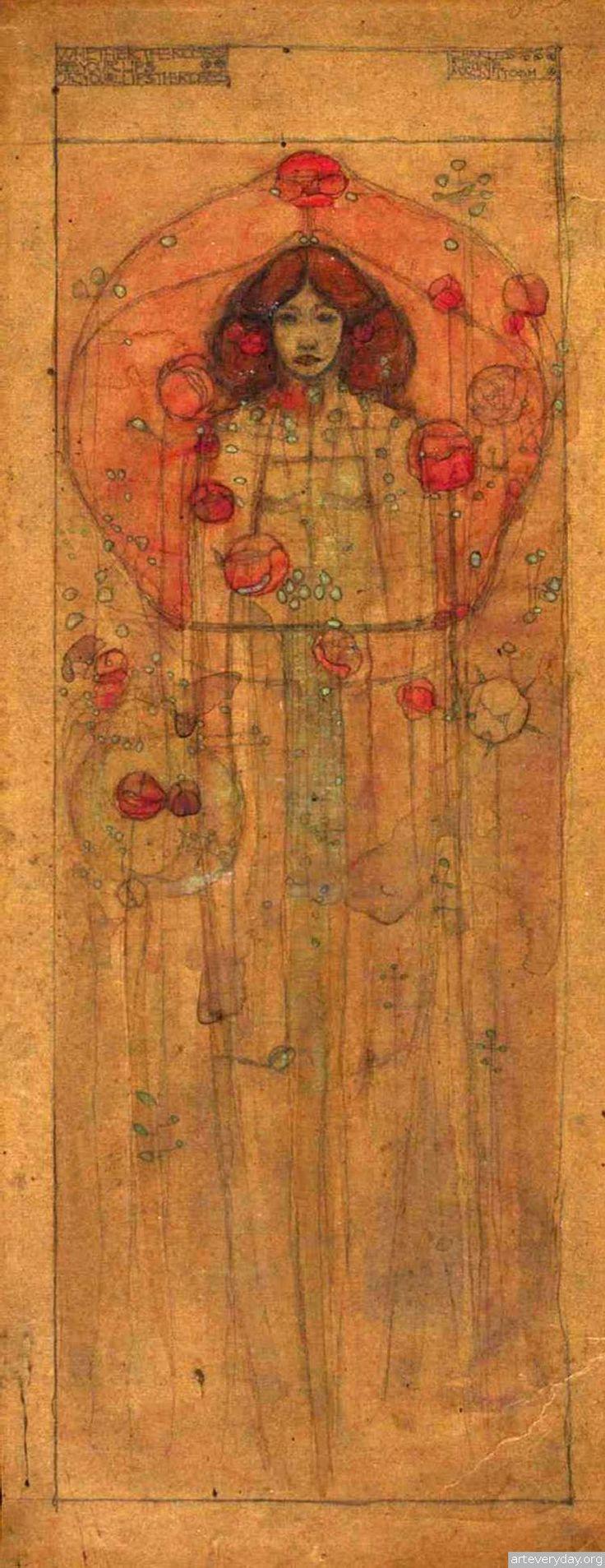 1  Чарльз Ренни Макинтош-Charles Rennie Mackintosh   ARTeveryday.org