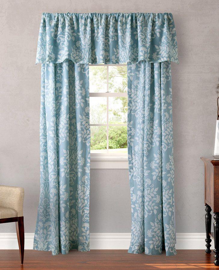 Rowland Blue Drapery lauraashleyhome 47 best Window