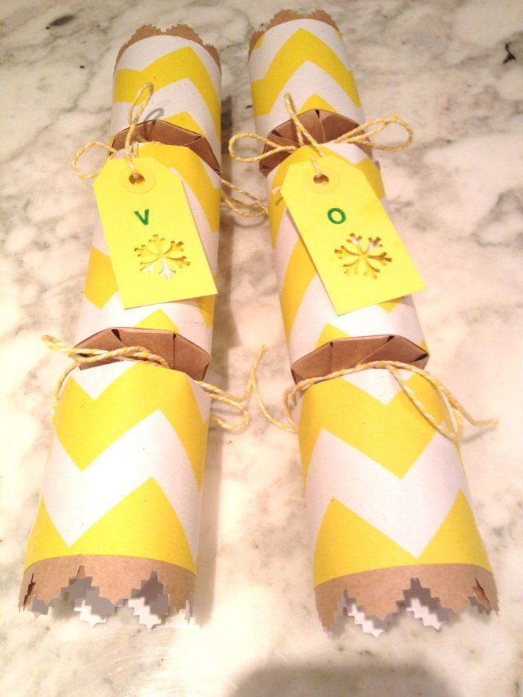 Make your own Xmas Crackers!