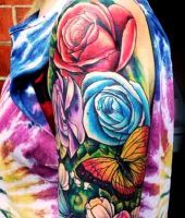 tatuaże róże 39706