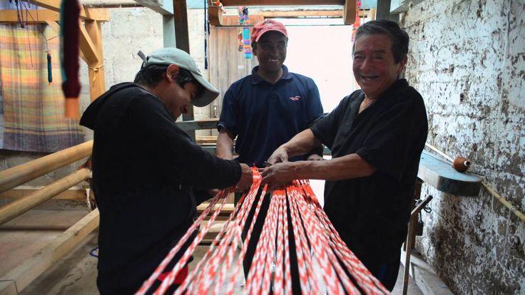 Artisan Ikat Weaving by A Rum Fellow