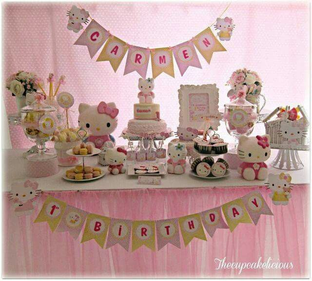 51 best FIESTAS TEMA HELLO KITTY images on Pinterest Hello kitty
