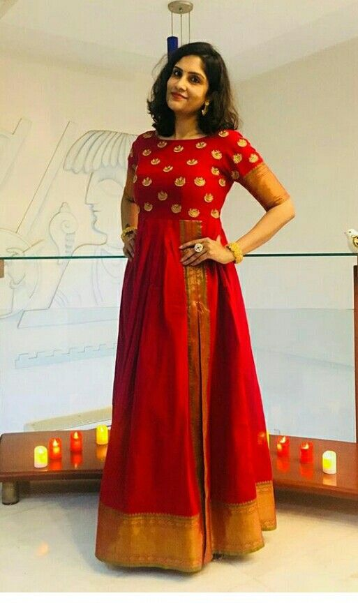 Ideas for converting old Pure Silk Sarees into Modern Ethnic Outfits