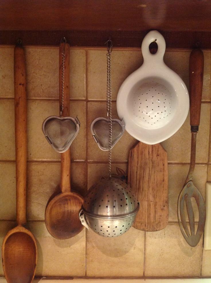 Tea strainers in my kitchen