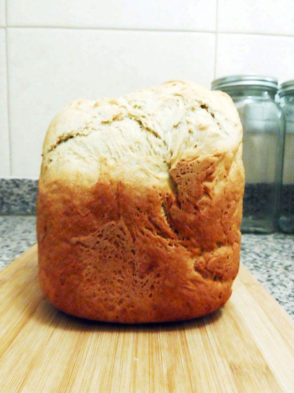 Receta de pan francés rápido en panificadora