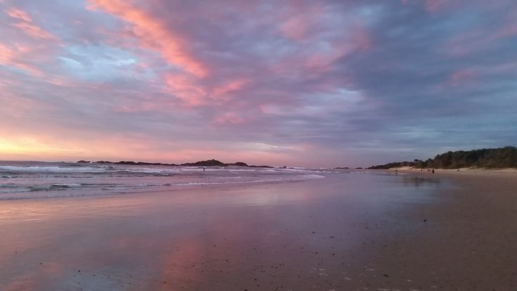 Sunrise at Sawtell Beach