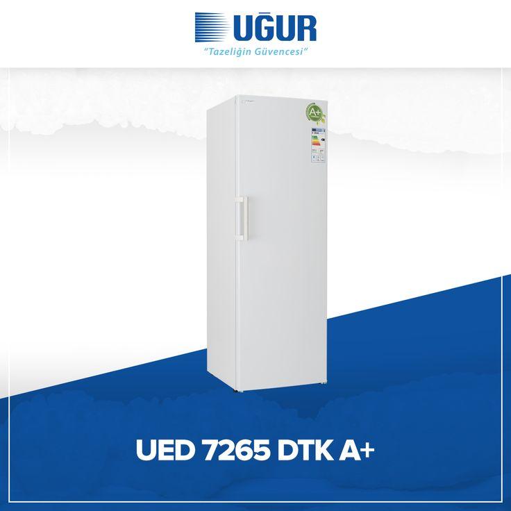UED 7265 DTK A+ birçok özelliğe sahip. Bunlar; ayarlanabilir ayak, şeffaf çekmece, mekanik termostat ve pratik açılan kapı kolu. #uğur #uğursoğutma