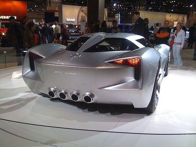 Chevy Stingray concept car