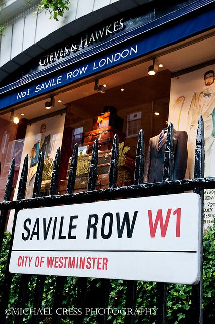 No.1 Savile Row for Hillys London | Raddest Men's Fashion Looks On The Internet: http://www.raddestlooks.org