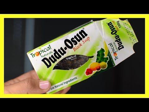 Dudu Osun Black Soap Review Get Rid Of Acne Fade Acne