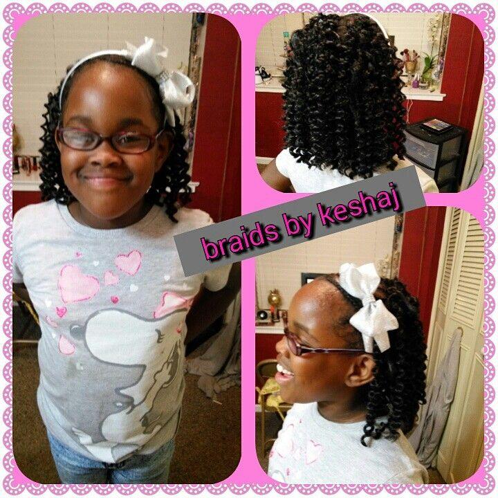 Crochet Hair For Little Girl : ... Crochet braids for little girls on Pinterest Dread hair, Kid hair