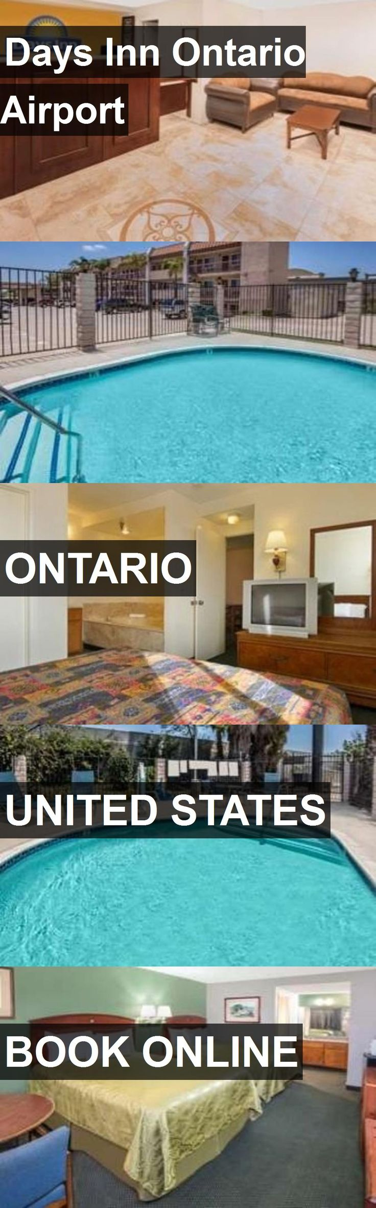 Hotel Days Inn Ontario Airport in Ontario, United States. For more information, photos, reviews and best prices please follow the link. #UnitedStates #Ontario #DaysInnOntarioAirport #hotel #travel #vacation