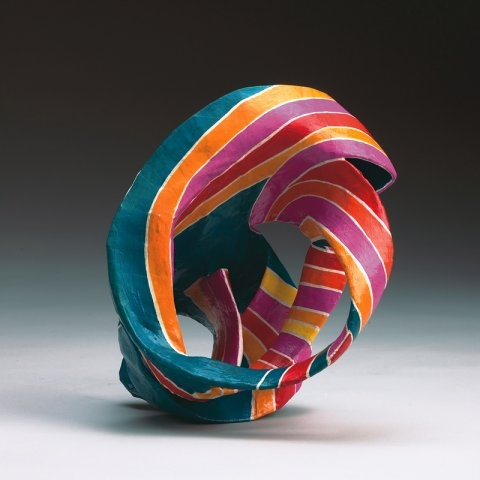 Marjorie Schick - paper mache bracelet