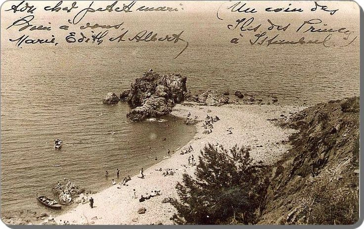 Burgazada Kalpazankaya mevkii - 1900lerin başı