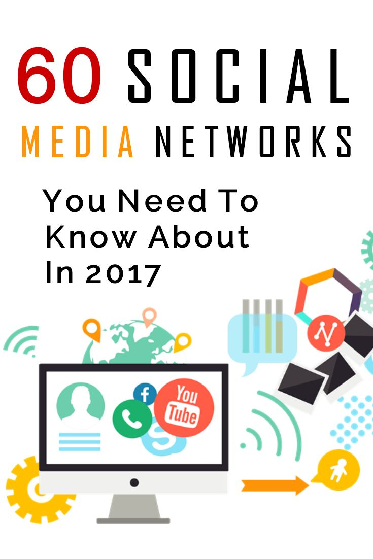 60 Social Media Networks You Need To Know About In 2017