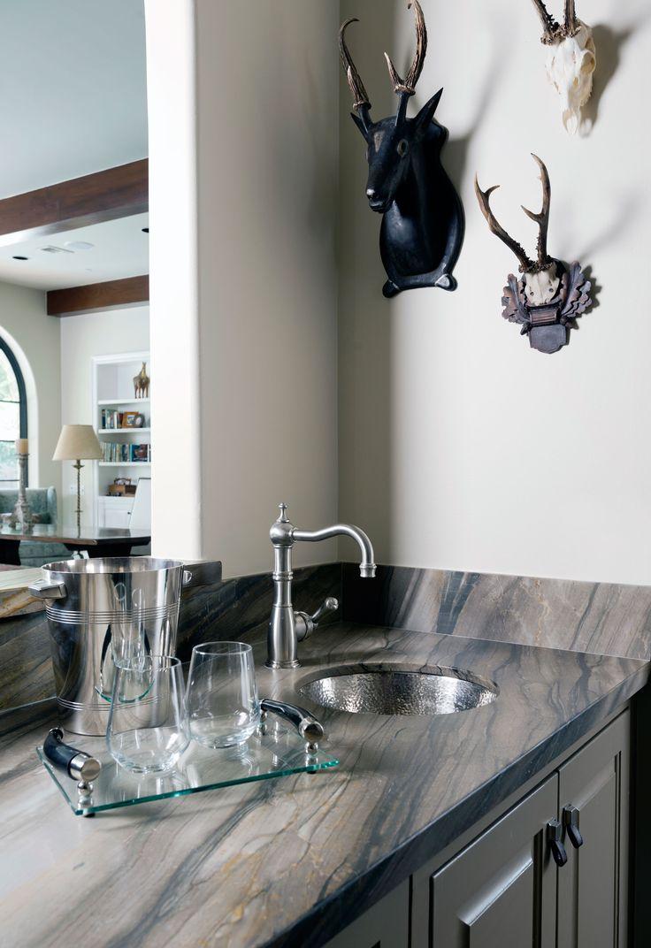 3421bd bathroom vanity ideas - Marble Mosaic Wz Antolini Sequoia Brown Marble Slab Leather Finish