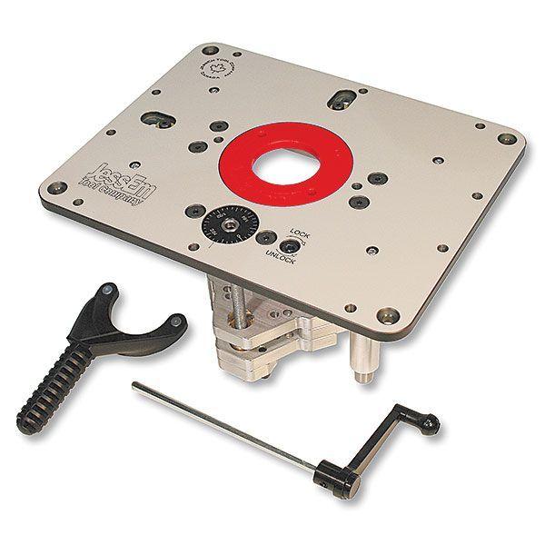 "Buy JessEm Rout-R-Lift II Router Lift For 3-1/2"" Diameter Motors, JessEm# 02310 at Woodcraft.com"
