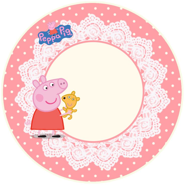 Peppa Pig and Family: Free Printable Party Kit.