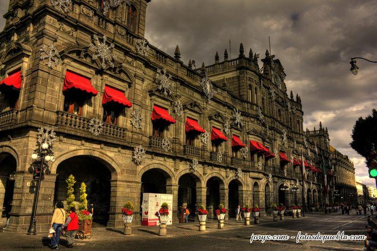 Palacio del Ayuntamiento de Puebla, México.