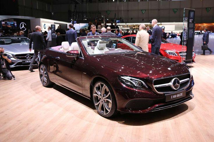 Salon Genève 2017 : Mercedes Classe E Cabriolet
