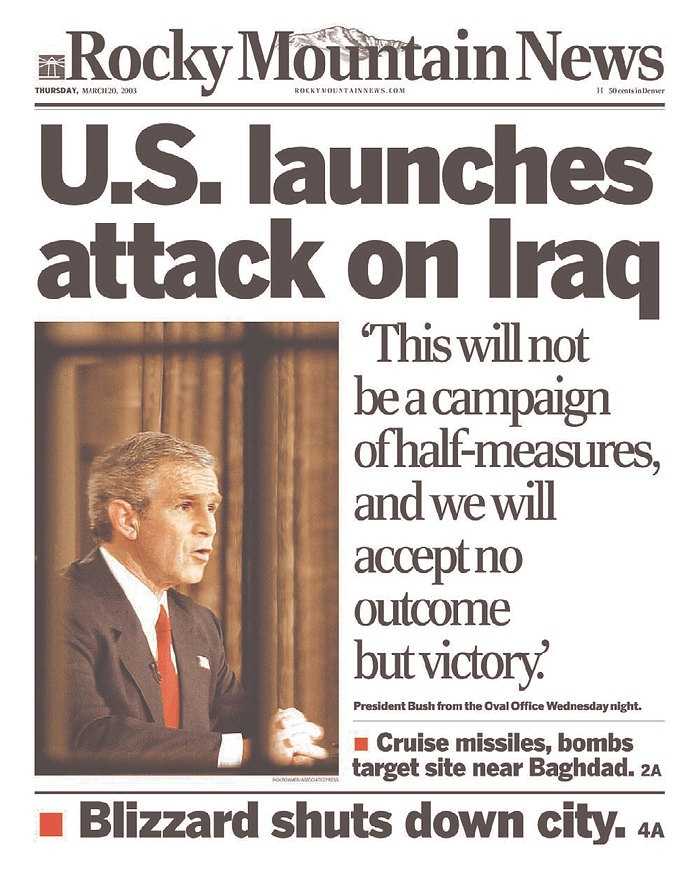 the rationale of americas war with iraq It has become evident in the united states and elsewhere in the world that  the  second reason was the haste in rushing for the war on iraq on march 19, 2003.