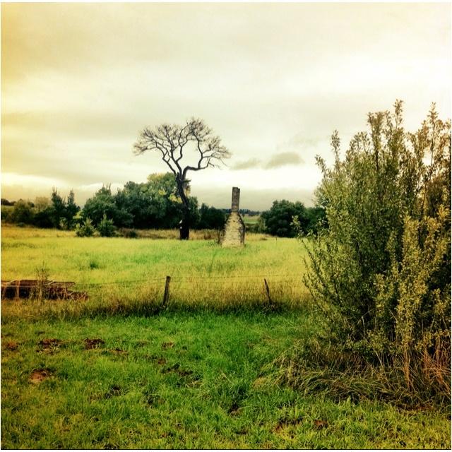 Lonely chimney