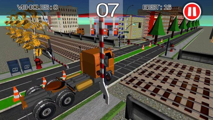 Train Transport Simulator  Crossy Trains Driving #RailRoad #Crossing