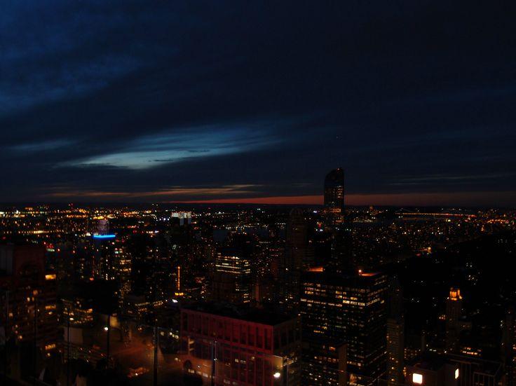 Top of The Rock Observation Deck ve městě New York, NY