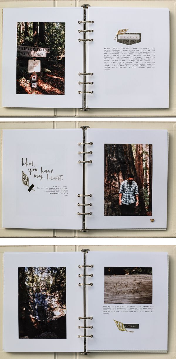 Mini Books - Big Sur Big Ten album - Vanessa Perry (part two)