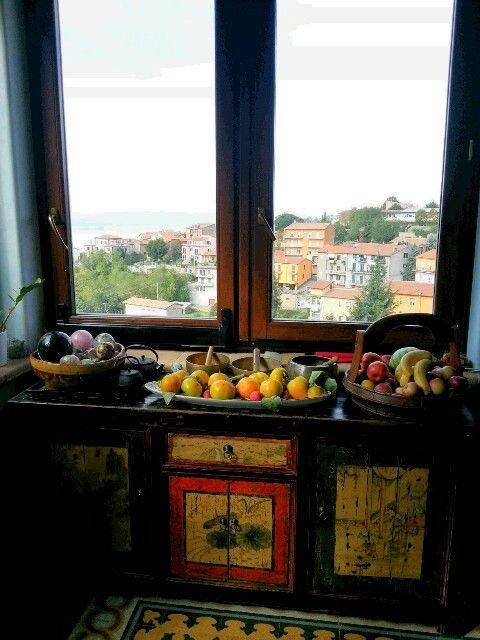 Vista su Montefiascone Italy