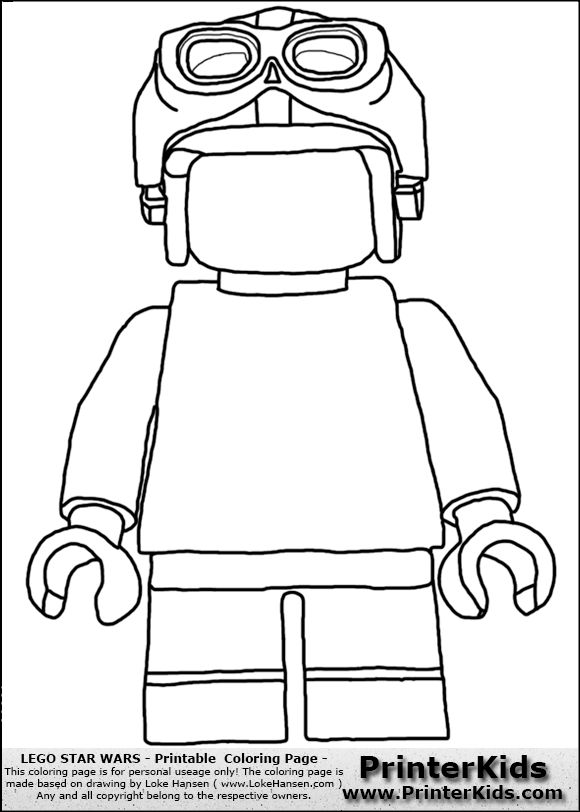 80 best farvel g colouring images on pinterest coloring for Lego luke skywalker coloring pages