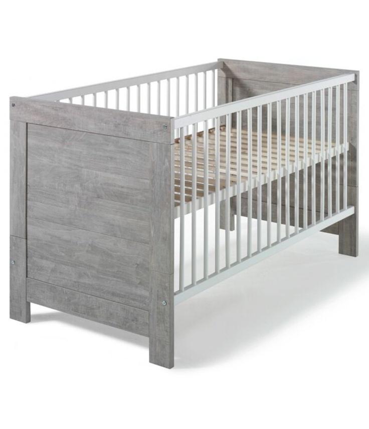 baby-direkt.de - Schardt Nordic Driftwood Kombi-Kinderbett 70x140 cm