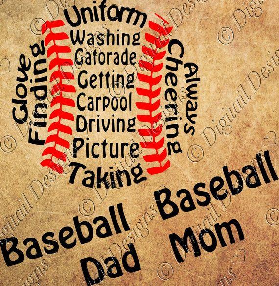 Baseball Mom Svg Png Dxf Eps Fcm Ai Cut File