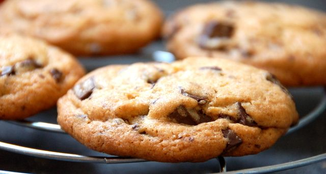 New York Times Chocolate Chip Cookies | Bake me happy | Pinterest