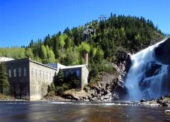 The Ghost town of Val-Jalbert in Lac-Saint-Jean was well know for its modern conveniences in the 1920's. It's now one of the major touristic attraction of the Saguenay-Lac-St-Jean region.