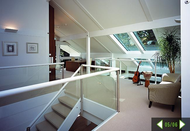 Huff house - interior - upstairs