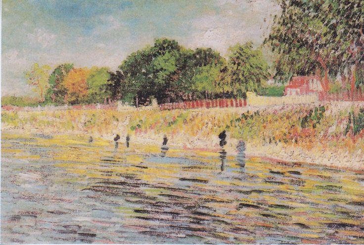 Van Gogh - Seineufer, 1887