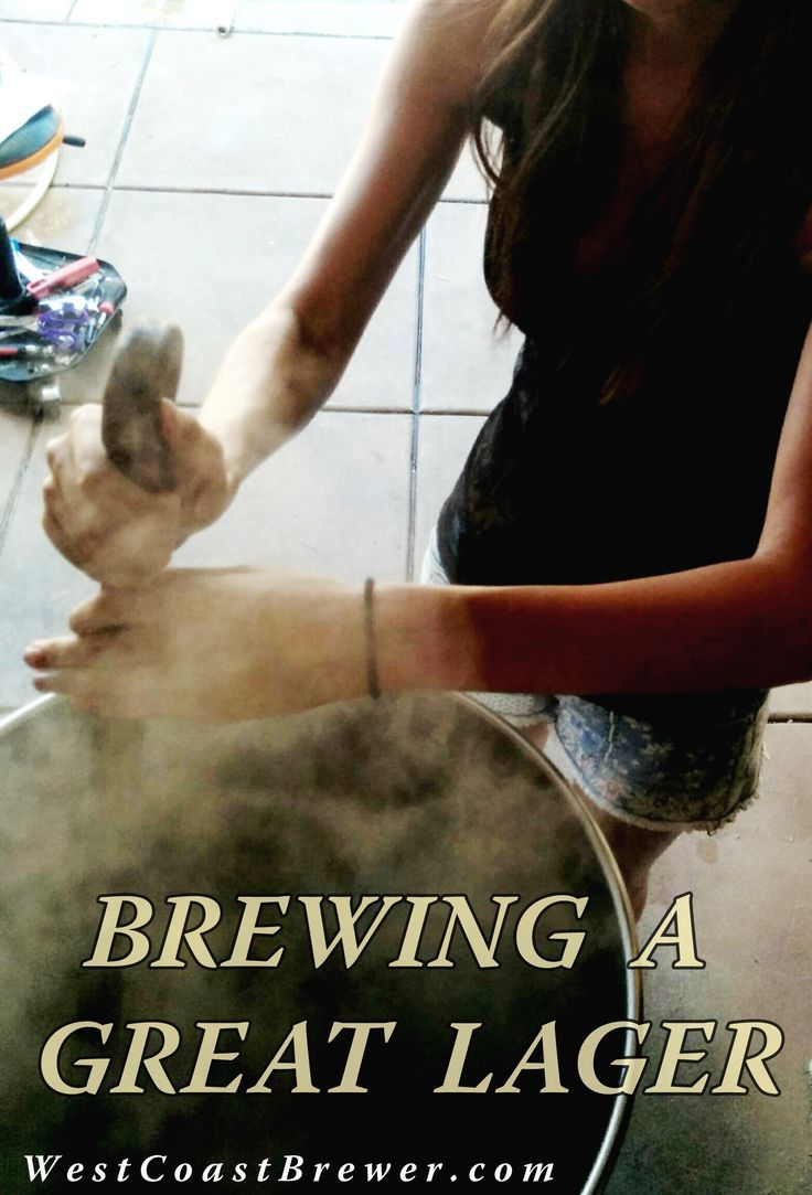 home brewing lager beers http://www.westcoastbrewer.com/BrewersBlog/home-beer-brewing-techniques/how-to-brew-a-great-lager/