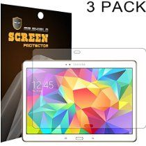 Mr Shield Samsung Galaxy Tab S 10.5 10 inch Anti-glare Screen Protector [3-PACK] with Lifetime Replacement Warranty From Mr Shield