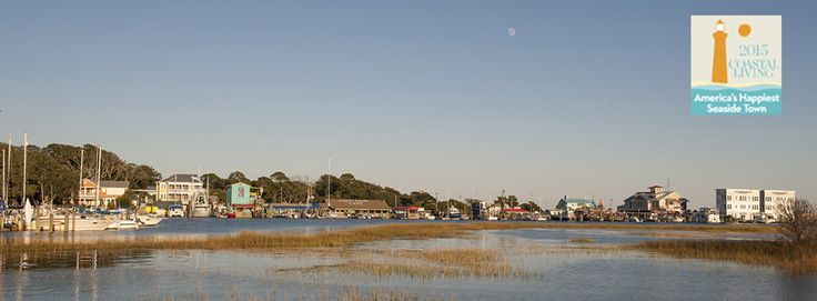 "Southport, NC - winner of Coastal Living's 2015 ""America's Happiest Seaside Town"" contest. Not only a great place to live but a great place to visit.  Location for the film ""Safe Haven"" based on the Nicholas Sparks novel by the same name."