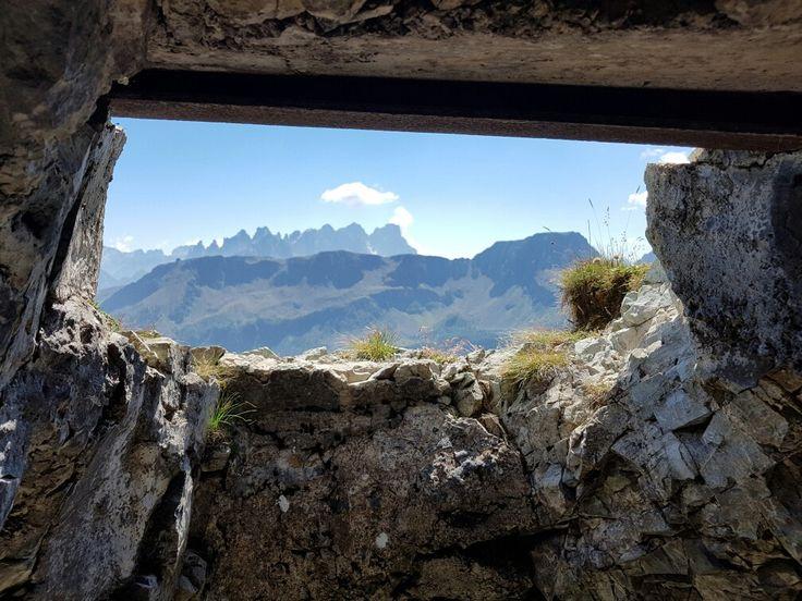 Passo San Pellegrino trincee