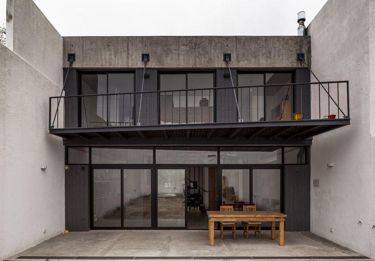 Office + House Luna   Hitzig Militello arquitectos   Archinect