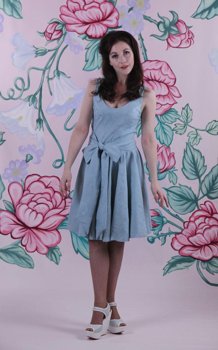 Harriett Falvey - Twirly Whirly Dress - Tiffany